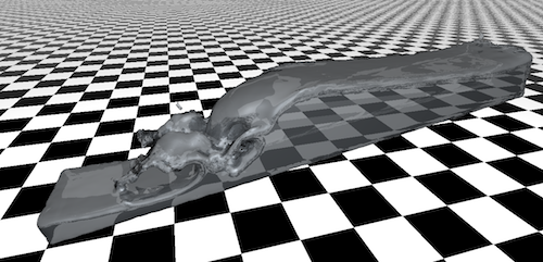 FPM Post Processing: Real-Time Ray Tracing of Point Set Surfaces in OptiX